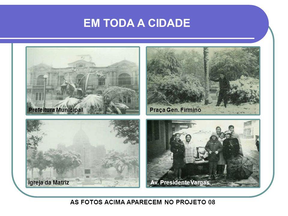 AS FOTOS ACIMA APARECEM NO PROJETO 08