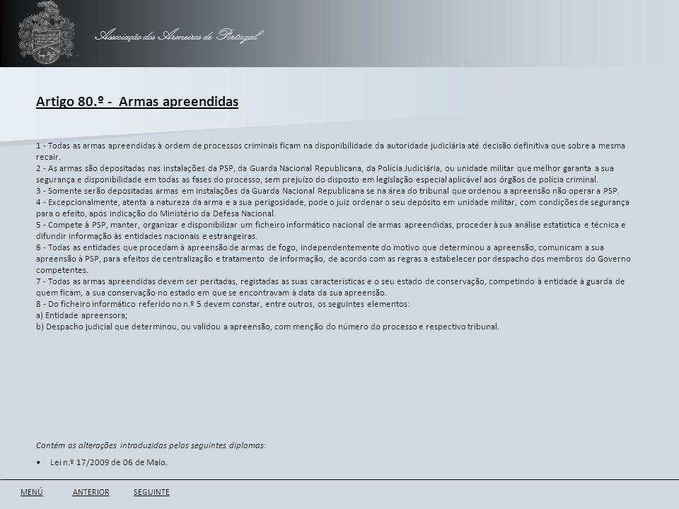 Associação dos Armeiros de Portugal