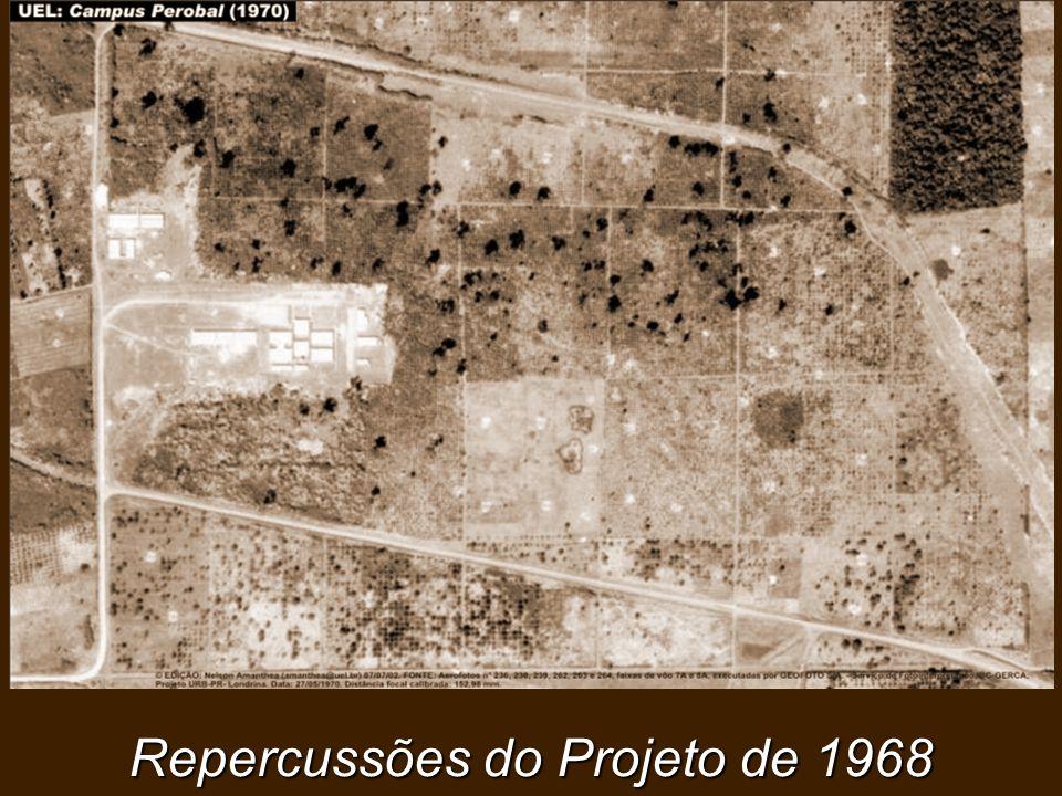 Repercussões do Projeto de 1968