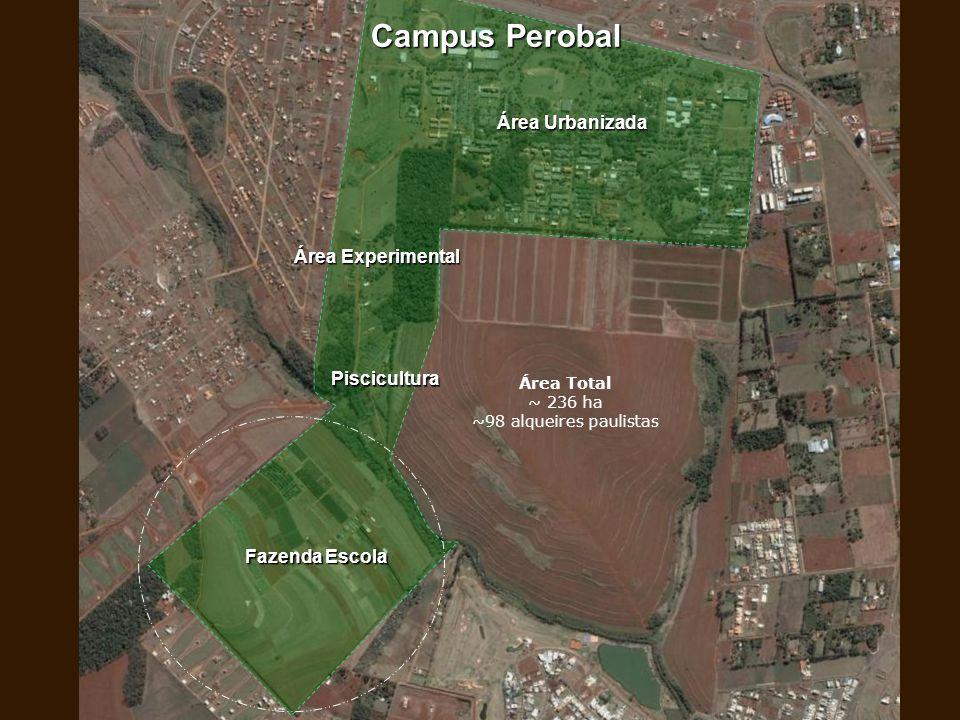 Área Total ~ 236 ha ~98 alqueires paulistas