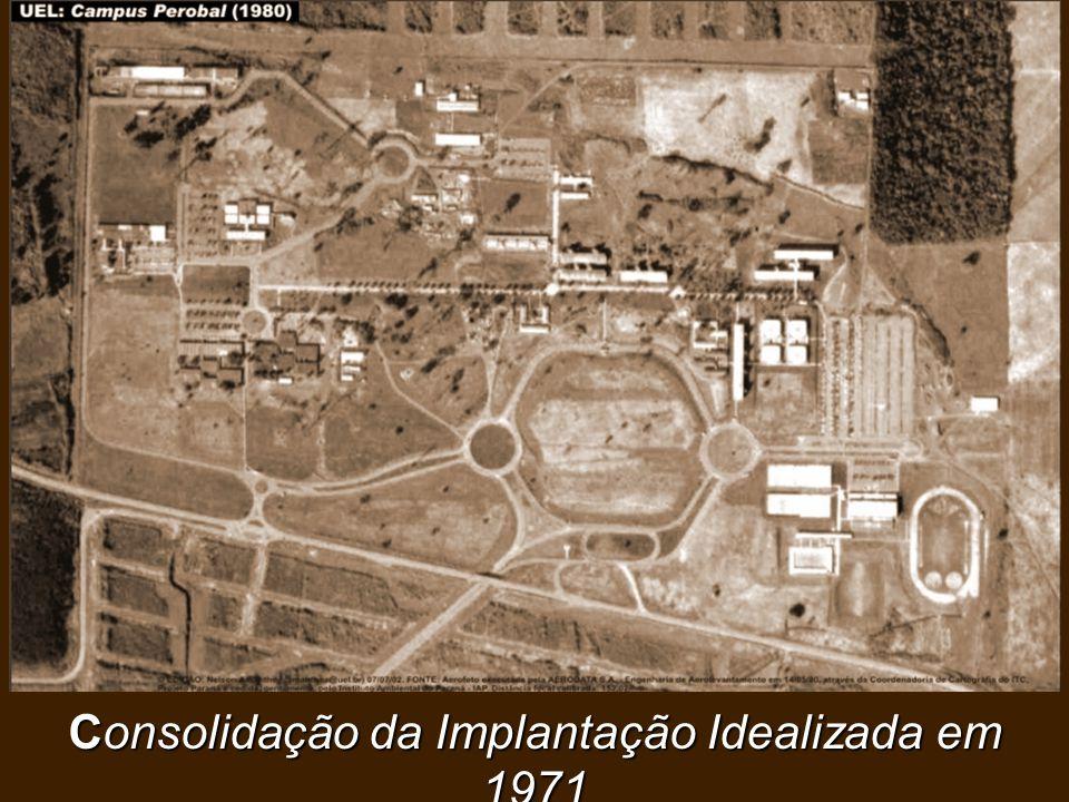 Consolidação da Implantação Idealizada em 1971