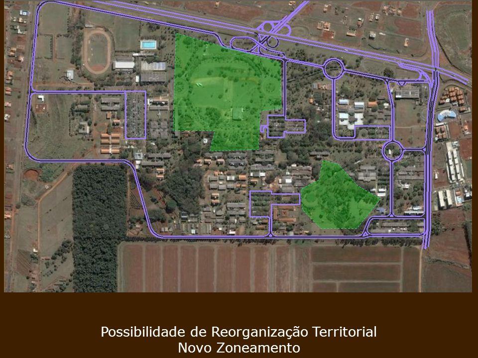 Possibilidade de Reorganização Territorial Novo Zoneamento