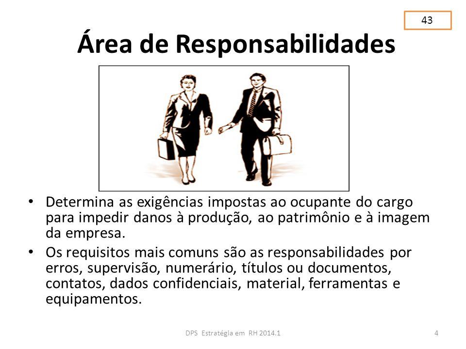 Área de Responsabilidades