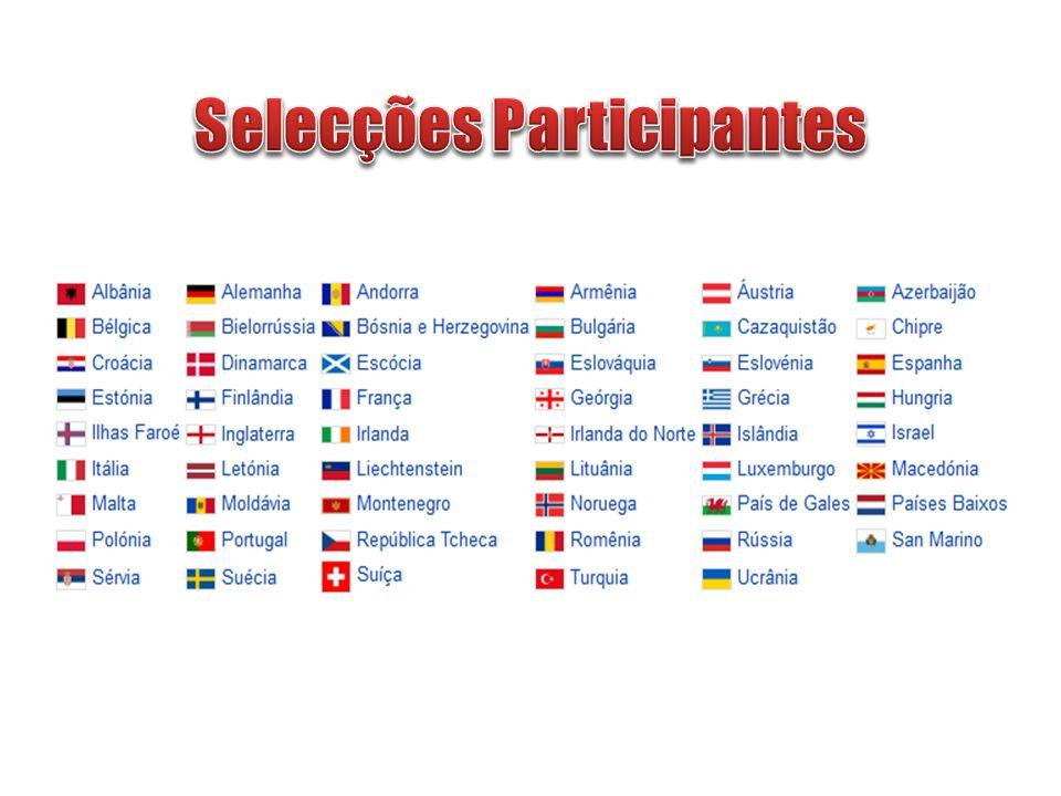 Selecções Participantes