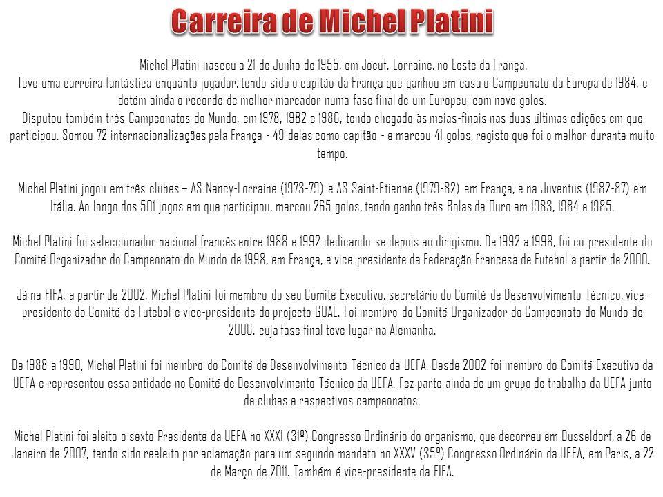 Carreira de Michel Platini