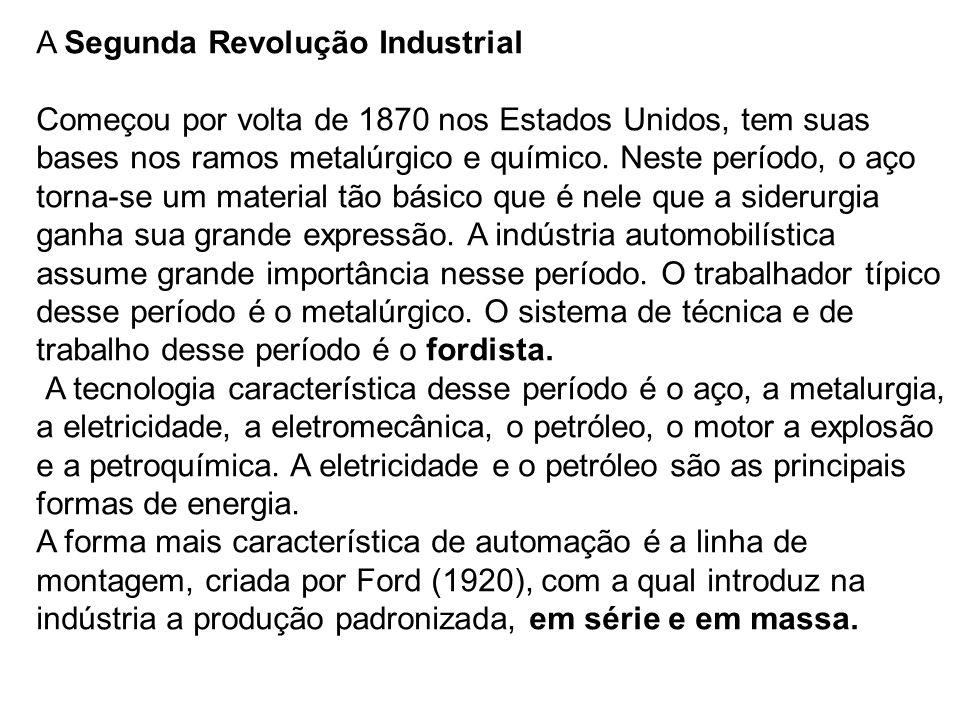 A Segunda Revolução Industrial