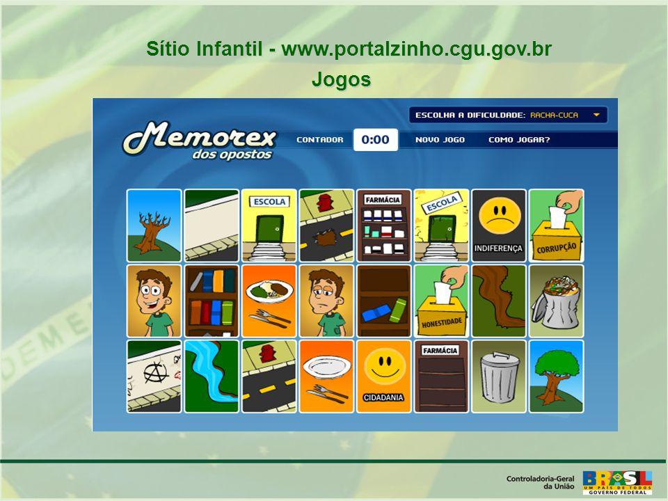 Sítio Infantil - www.portalzinho.cgu.gov.br
