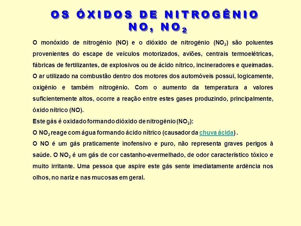 OS ÓXIDOS DE NITROGÊNIO