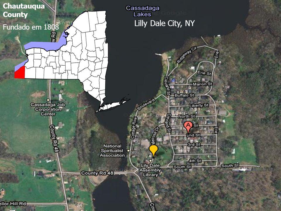 Lilly Dale City, NY Chautauqua County Fundado em 1808