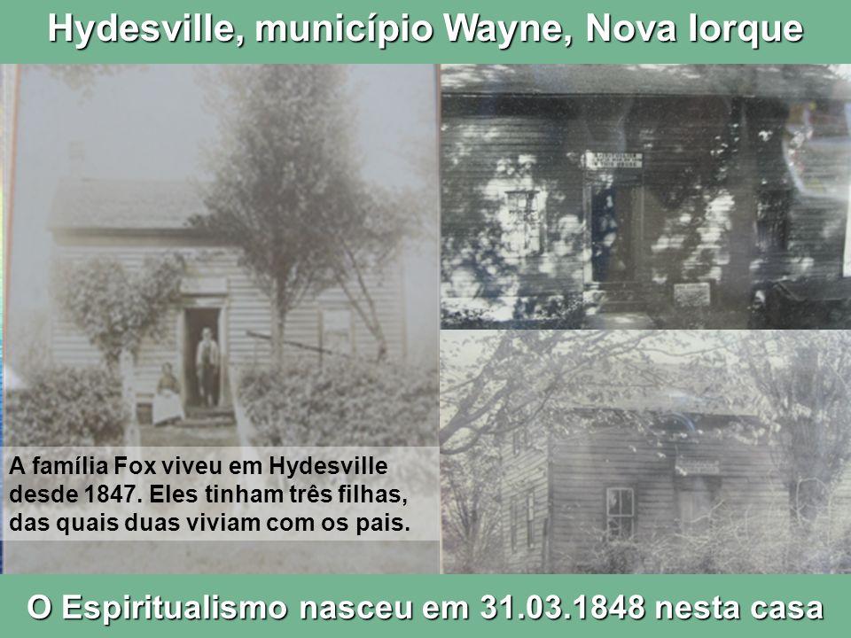 Hydesville, município Wayne, Nova Iorque