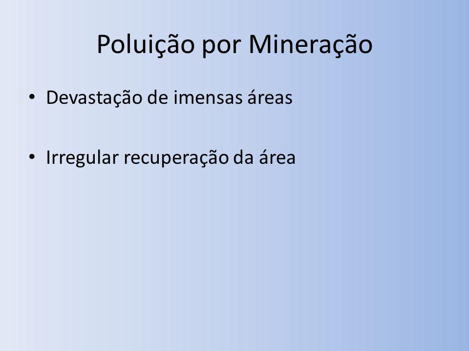 Poluição por Mineração