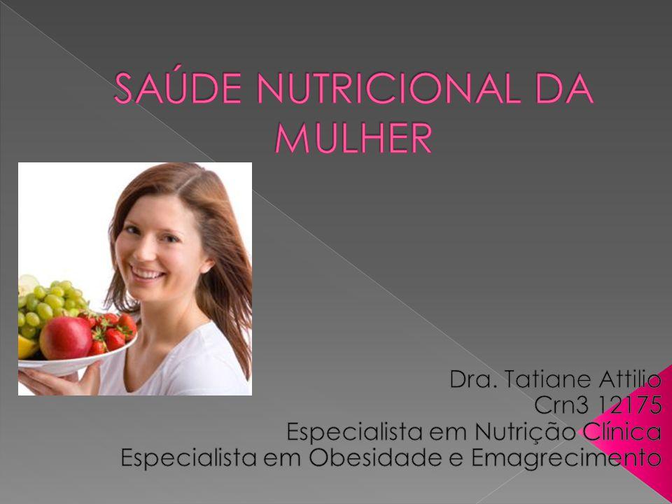 SAÚDE NUTRICIONAL DA MULHER
