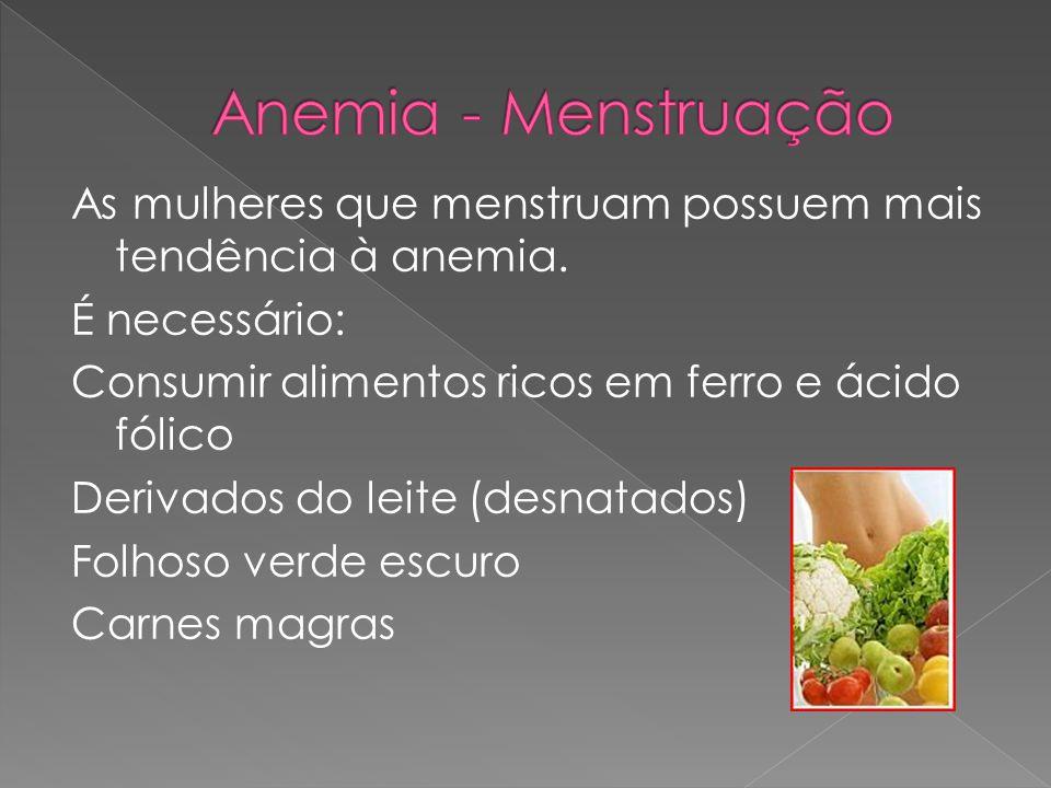 Anemia - Menstruação