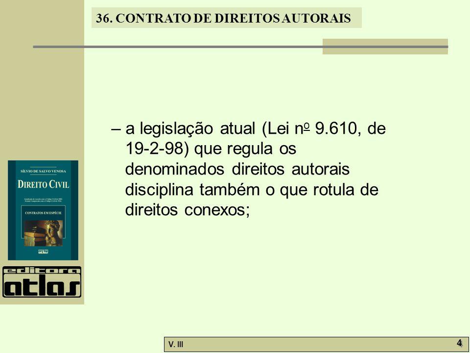– a legislação atual (Lei no 9