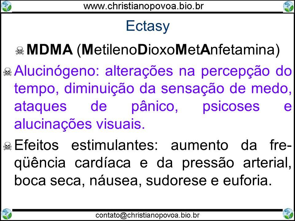MDMA (MetilenoDioxoMetAnfetamina)