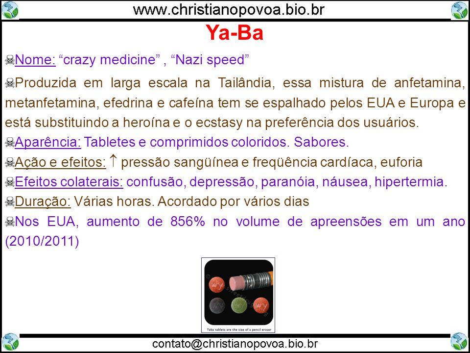 Ya-Ba Nome: crazy medicine , Nazi speed