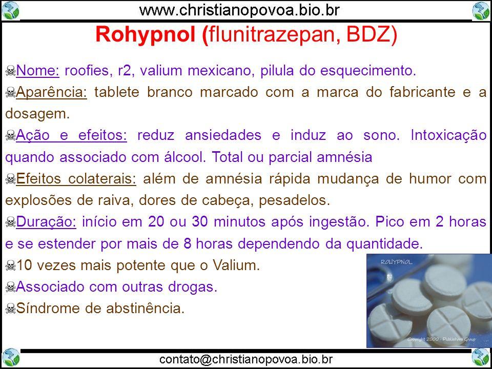 Rohypnol (flunitrazepan, BDZ)