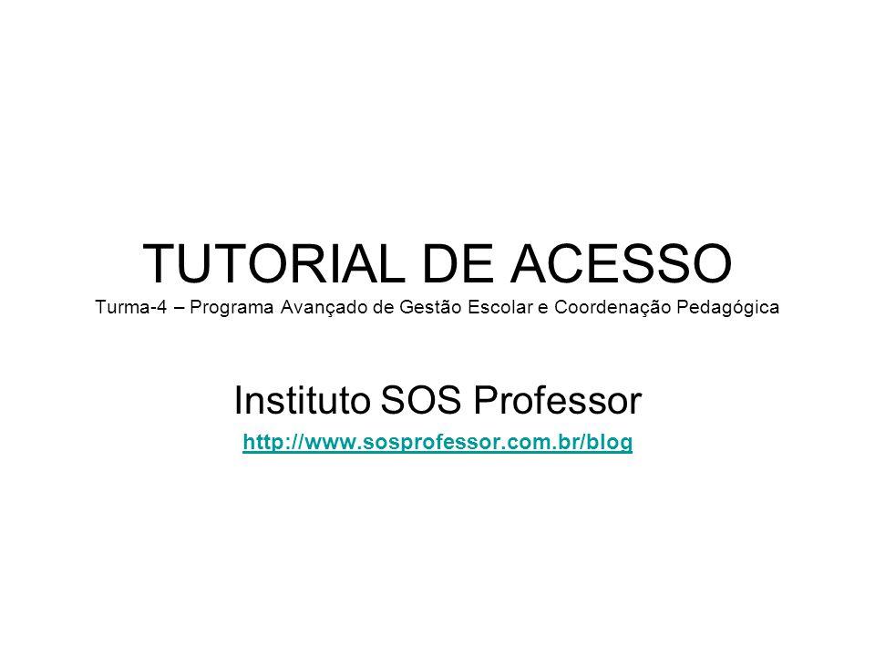 Instituto SOS Professor http://www.sosprofessor.com.br/blog