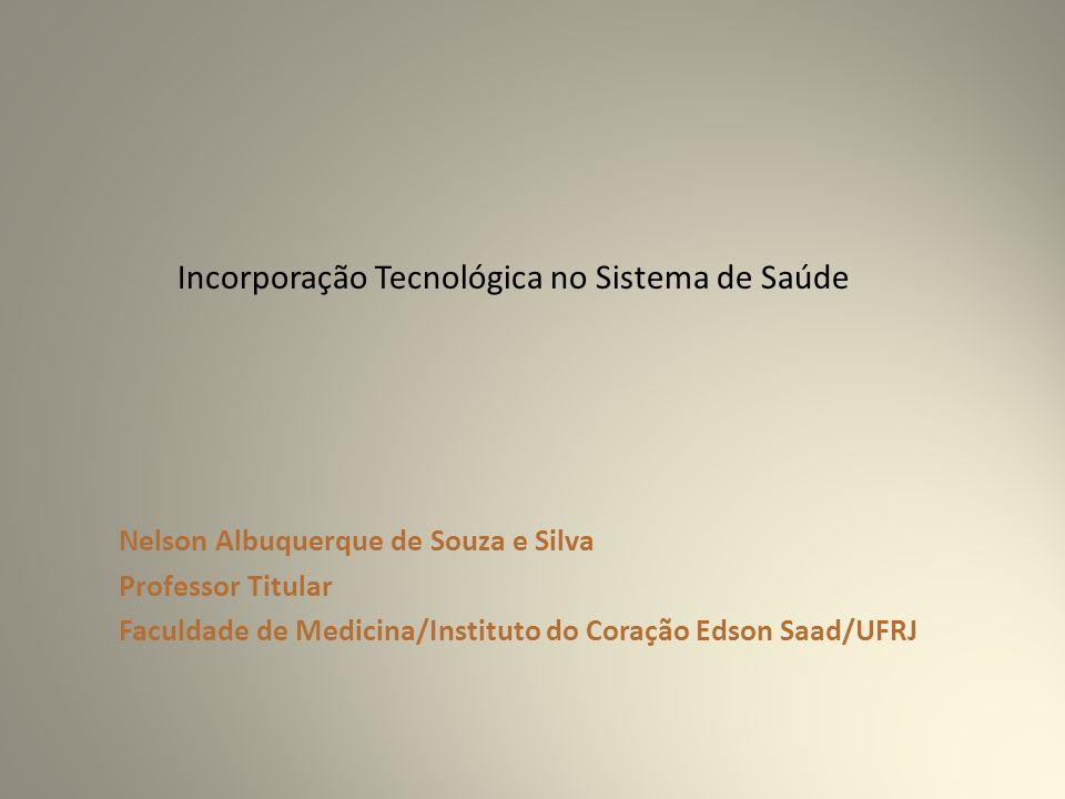 Incorporação Tecnológica no Sistema de Saúde