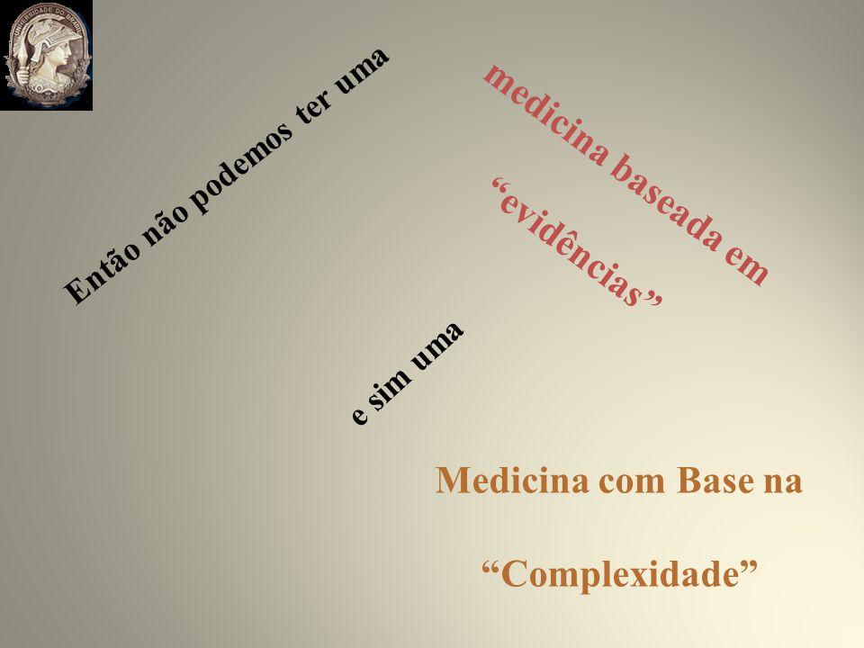 evidências Complexidade