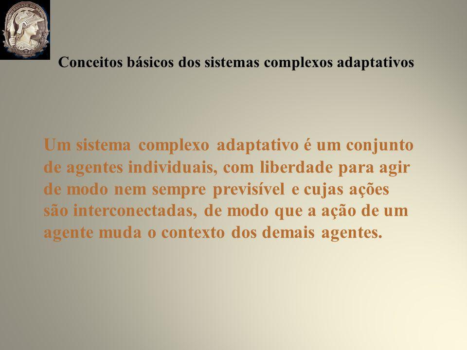 Um sistema complexo adaptativo é um conjunto