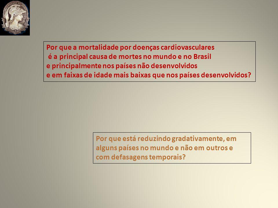 Por que a mortalidade por doenças cardiovasculares