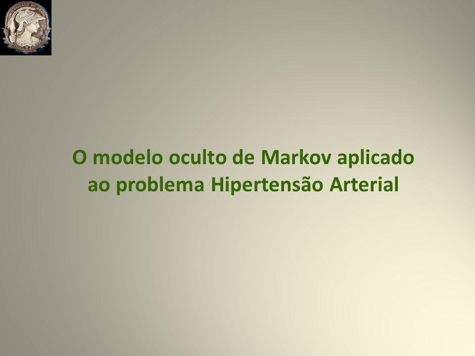O modelo oculto de Markov aplicado ao problema Hipertensão Arterial