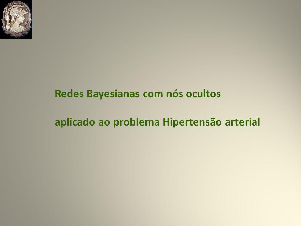 Redes Bayesianas com nós ocultos