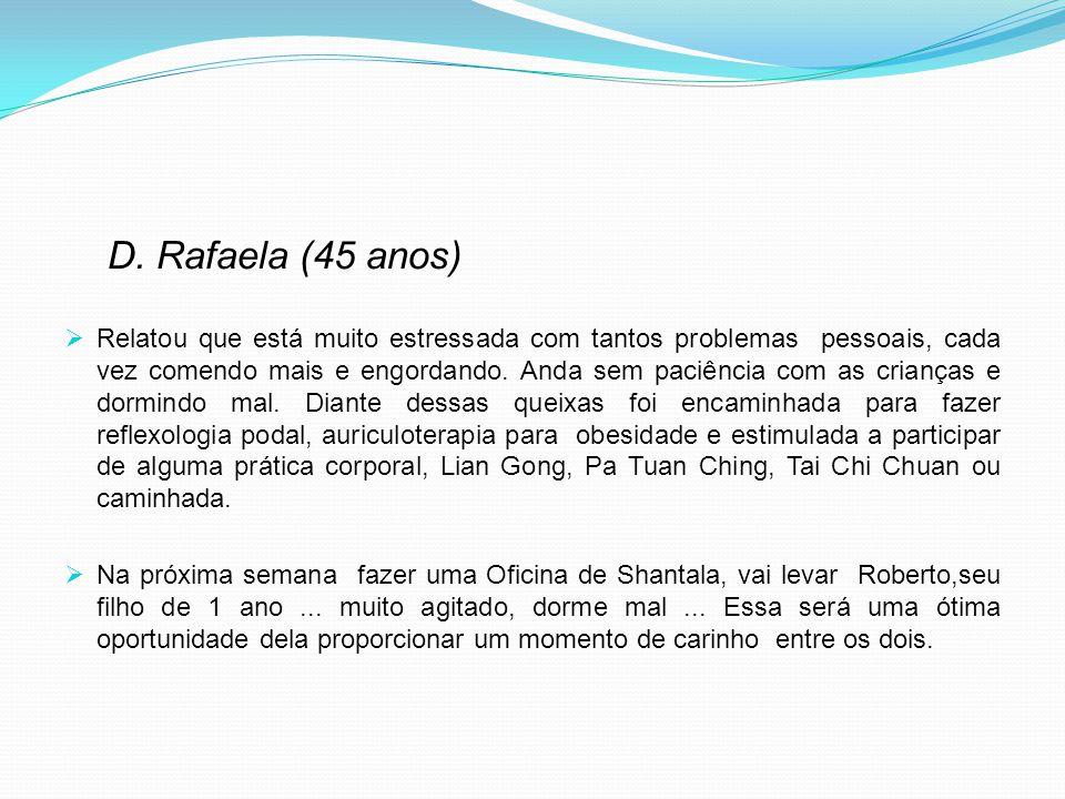 D. Rafaela (45 anos)