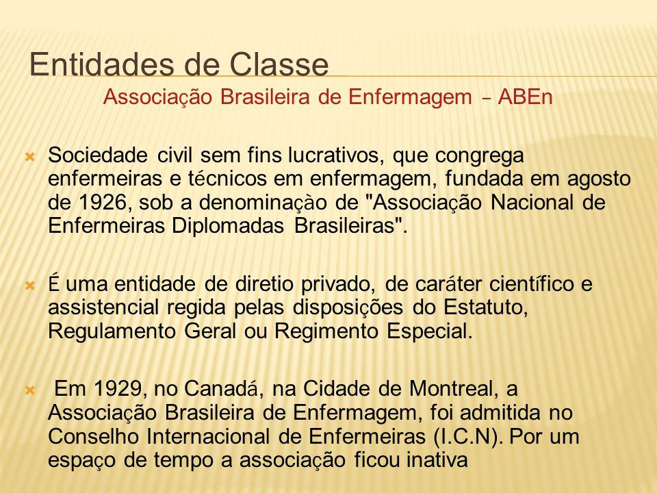 Associação Brasileira de Enfermagem – ABEn