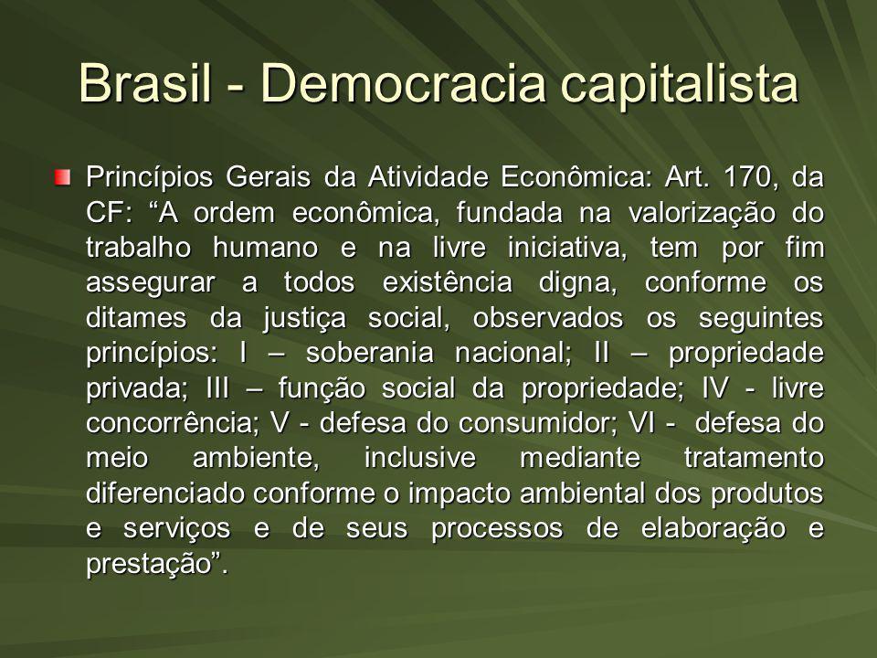 Brasil - Democracia capitalista