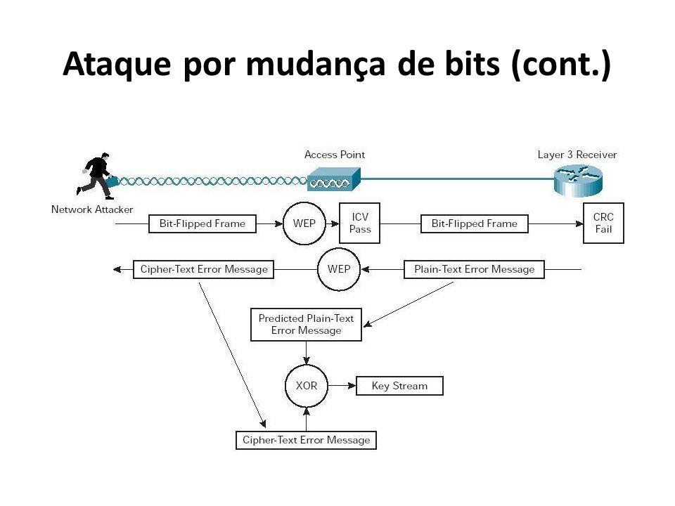 Ataque por mudança de bits (cont.)