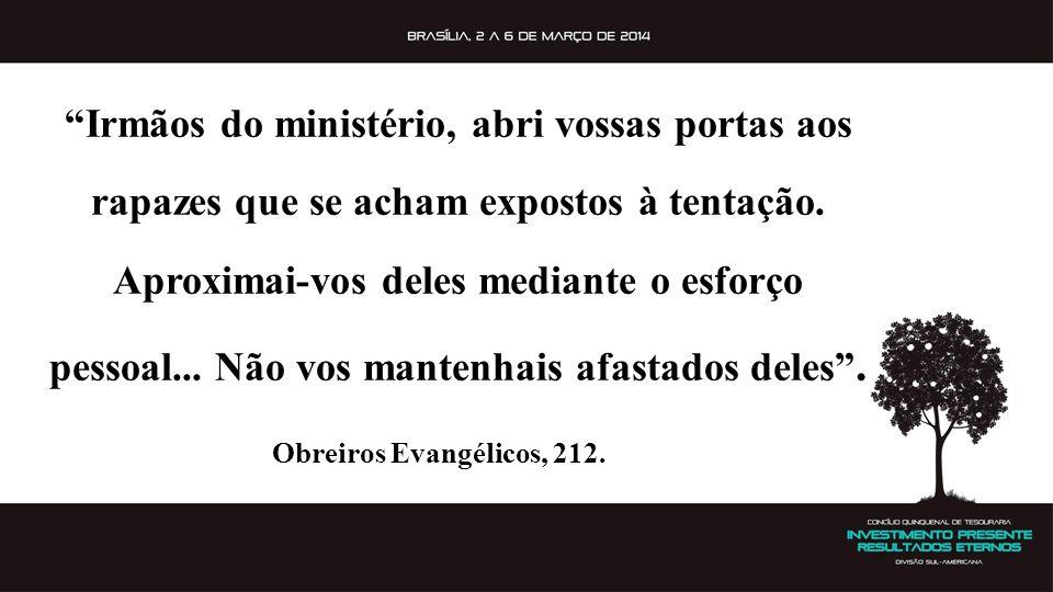 Irmãos do ministério, abri vossas portas aos