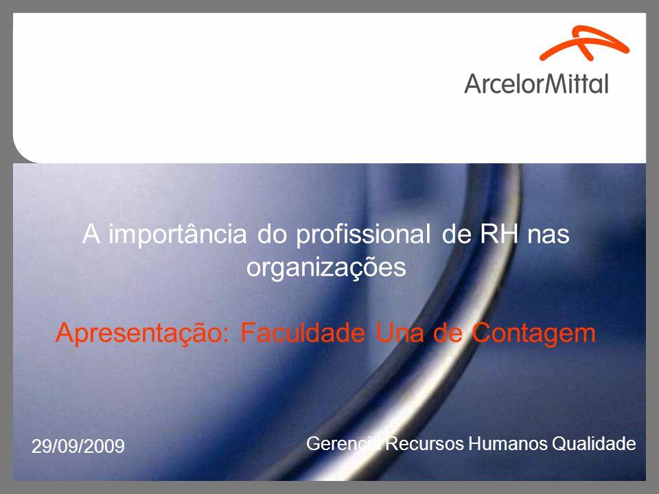 Papel da função Recursos Humanos: Em crises Prevendo crises Participando da construção do futuro Construindo uma nova empresa