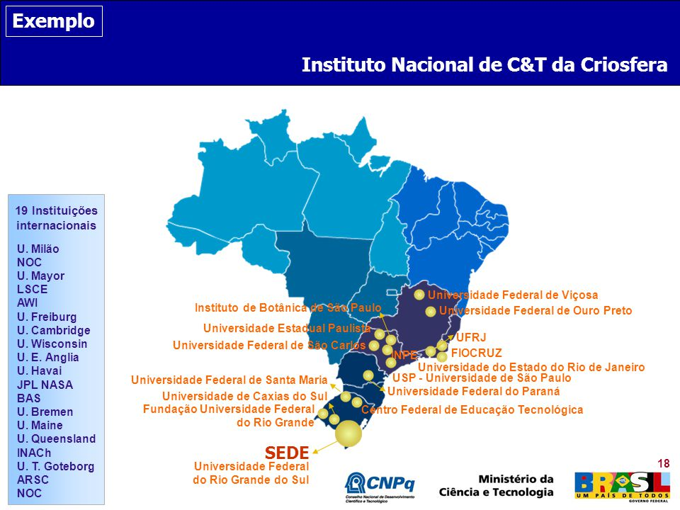 Instituto Nacional de C&T da Criosfera