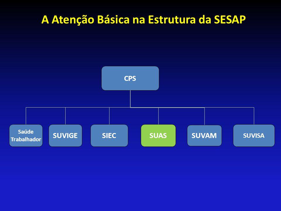 A Atenção Básica na Estrutura da SESAP