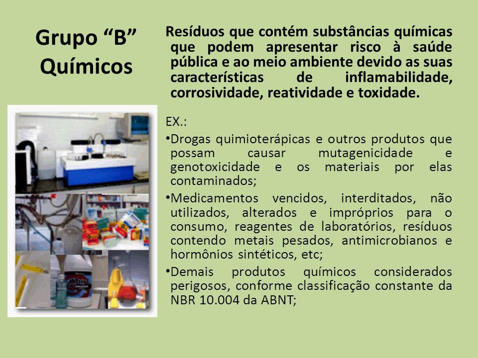 Grupo B Químicos