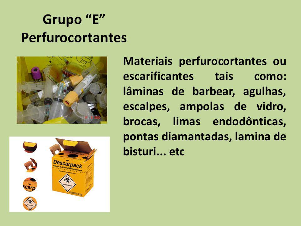 Grupo E Perfurocortantes