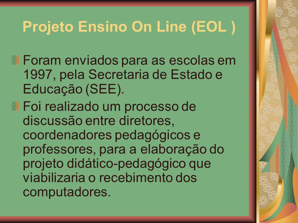 Projeto Ensino On Line (EOL )