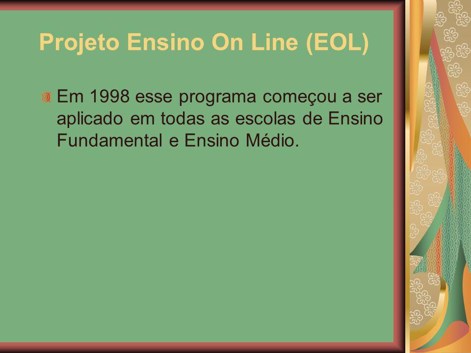 Projeto Ensino On Line (EOL)