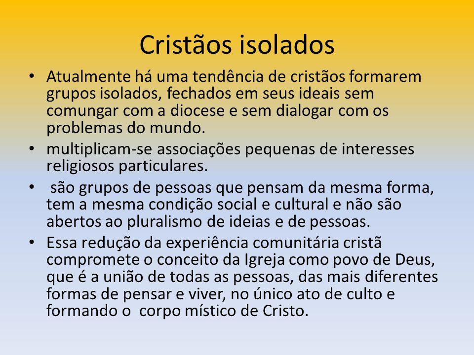 Cristãos isolados