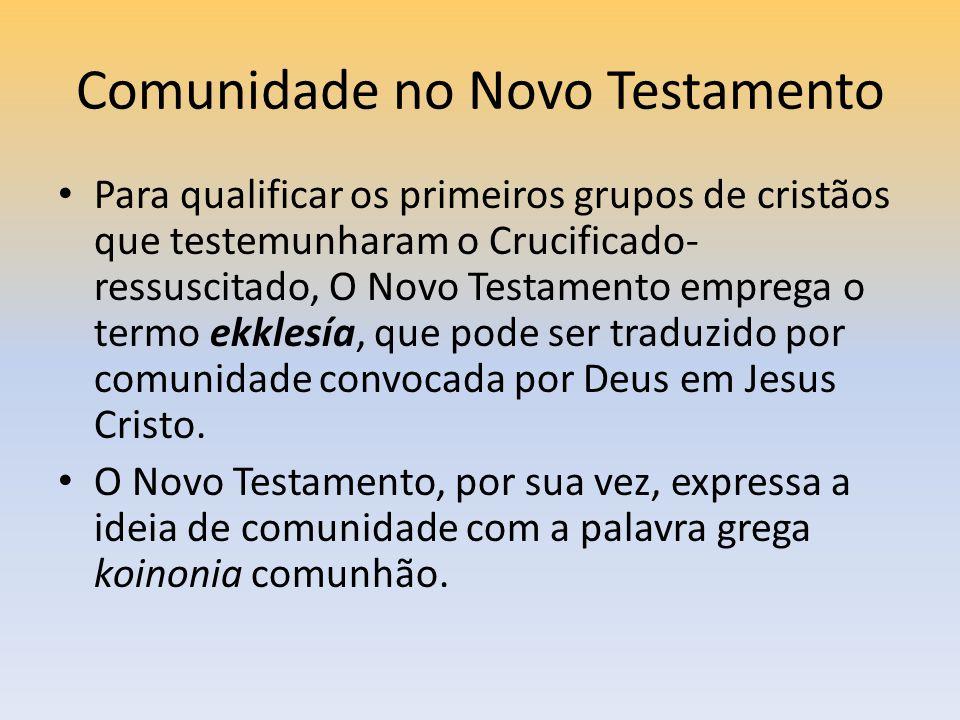 Comunidade no Novo Testamento