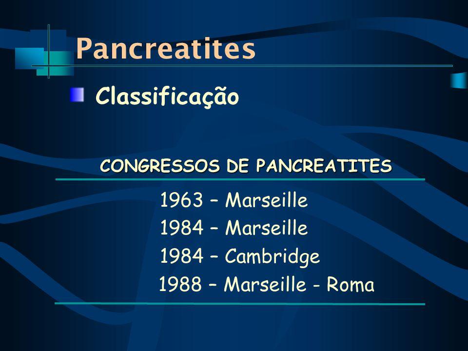 CONGRESSOS DE PANCREATITES