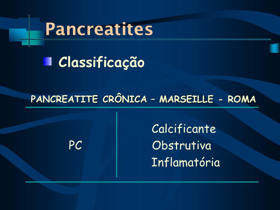 PANCREATITE CRÔNICA – MARSEILLE - ROMA