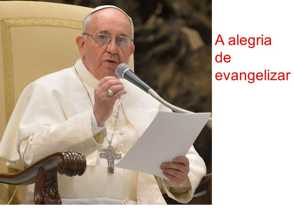 A alegria de evangelizar