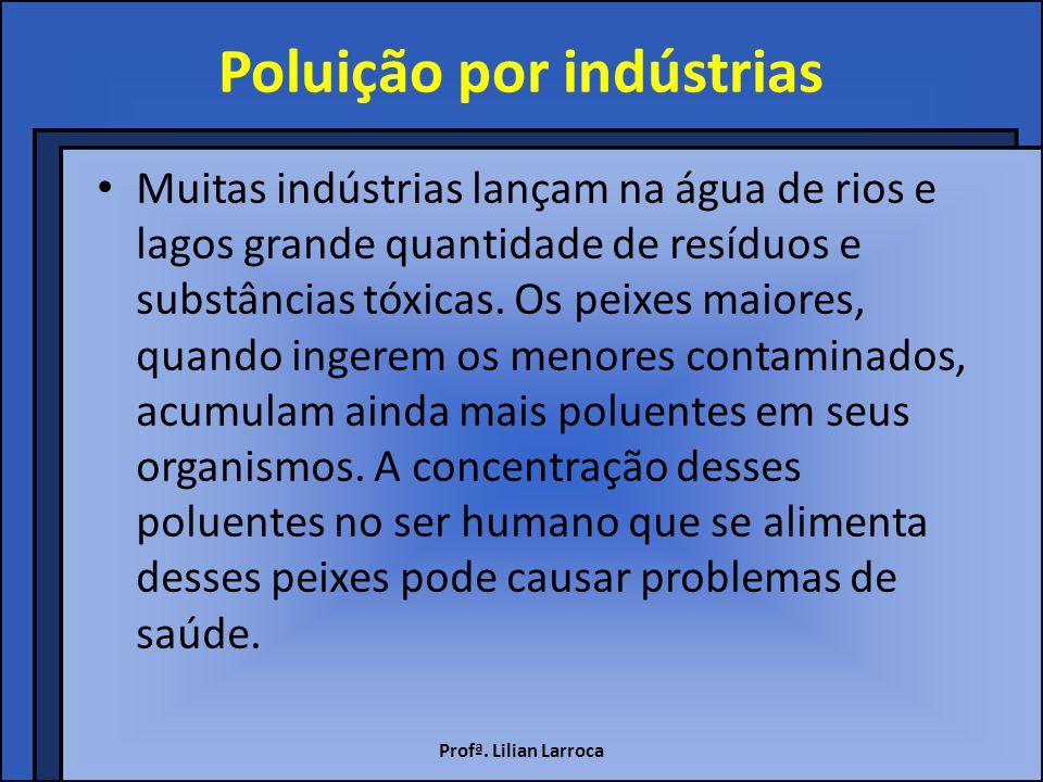 Poluição por indústrias