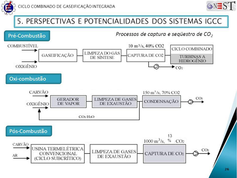 Processos de captura e seqüestro de CO2