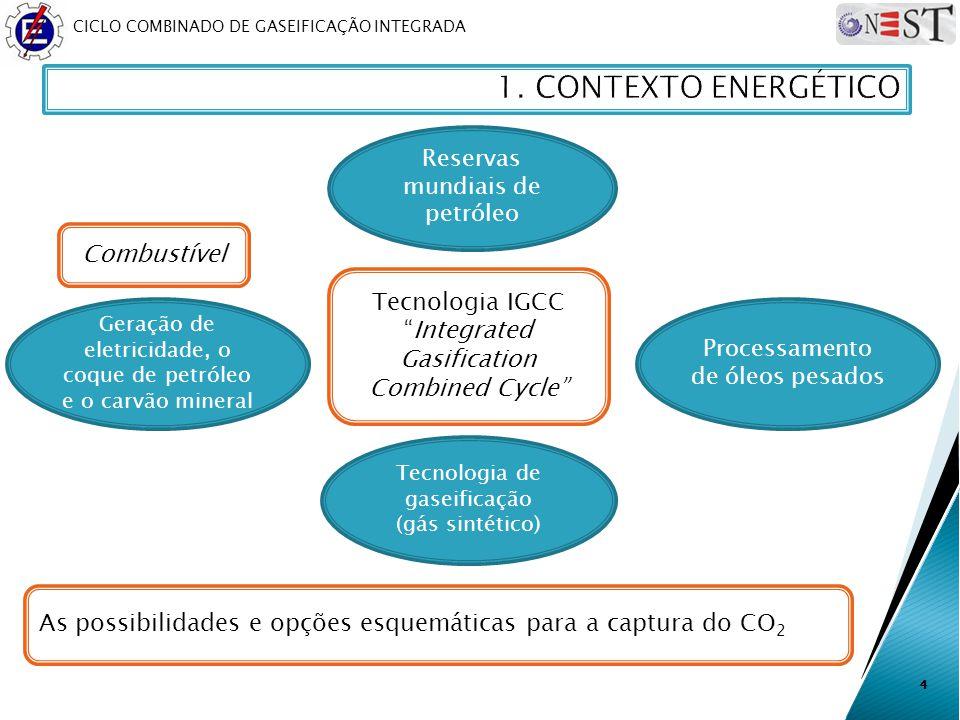 1. CONTEXTO ENERGÉTICO Combustível