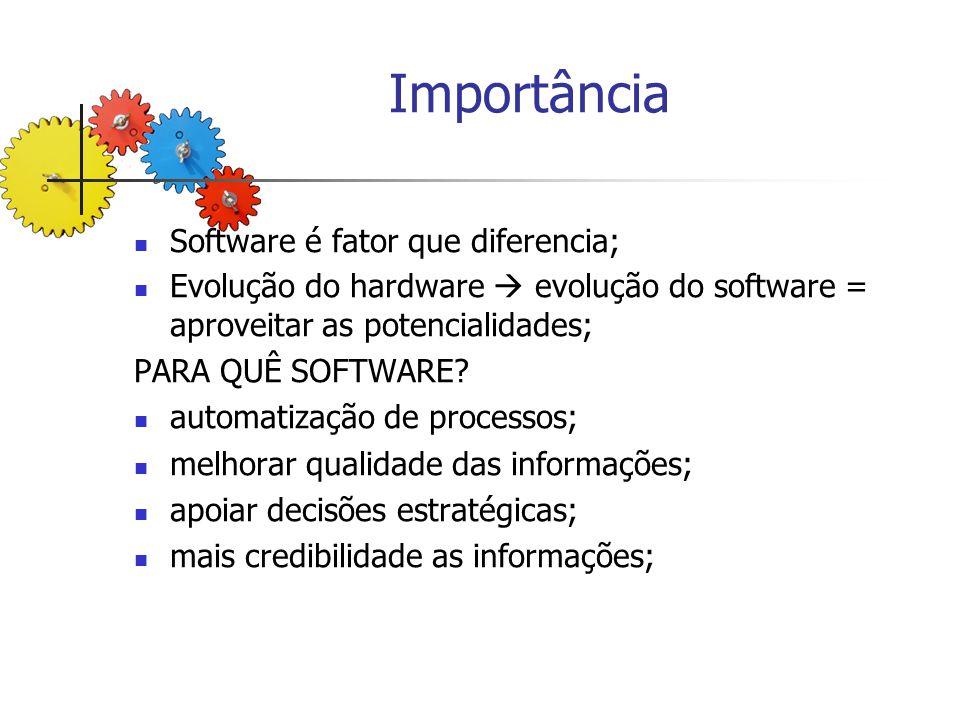Importância Software é fator que diferencia;