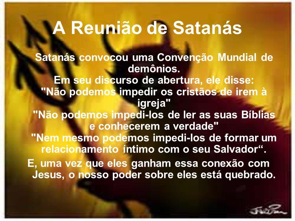 A Reunião de Satanás